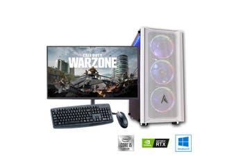 "Intel 6-Core High End Gaming PC Bundle: Allied Patriot Core i5 10400 | RTX 2080 Super 8GB | 27"" Monitor"