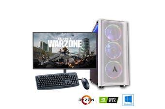 "AMD 6-Core High End Gaming PC Bundle: Allied Patriot Ryzen 5 3500X | RTX 2080 Super 8GB | 27"" Monitor"