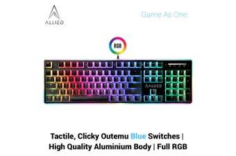 Allied Firehawk RGB Mechanical Gaming Keyboard (Outemu Blue Switches)