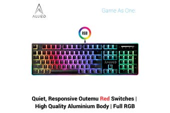Allied Firehawk RGB Mechanical Gaming Keyboard (Outemu Red Switches)