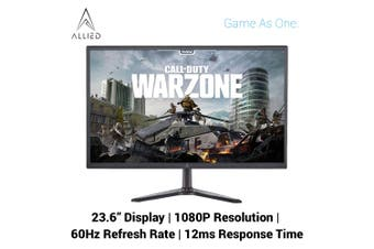 "Allied A2400-B 23.6"" 1ms 60Hz 1080P Gaming Monitor"