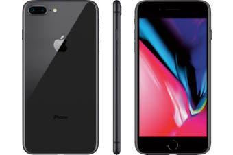 Apple iPhone 8 Plus Space Grey 64GB SIM-Free Smartphone (Renewed)