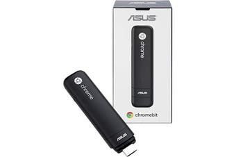 Asus Chromebit-B007C Rockchip 3288-C 2GB 16GB eMMC Chrome OS Device Mini PC Stick, 90MA0031-M00070