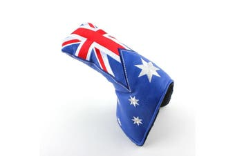 Australian Flag Blade Putter Cover