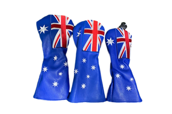 Australian Flag HeadCover Set
