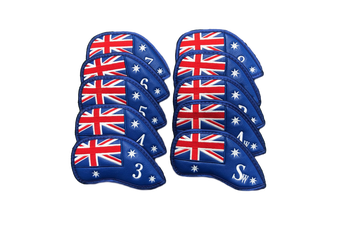 Australian Flag Iron Cover Set