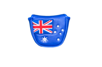 Australian Flag Traditional Mallet Putter Cover