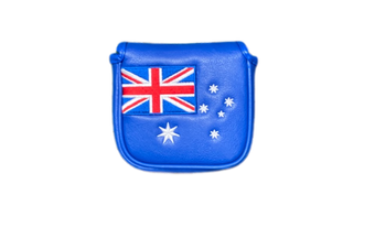 Australian Flag Square Mallet Putter Cover