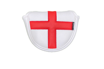 English Flag Traditional Mallet Putter Cover