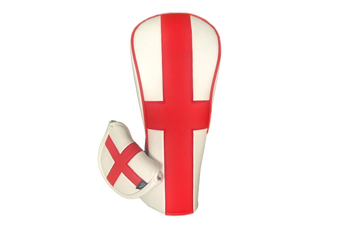 English Flag Twin Set - Driver & Tradional Mallet Cover