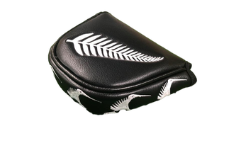 NZ Fern Flag Traditional Mallet Putter Cover