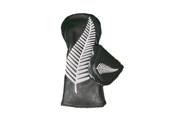 NZ Fern Flag Twin Set - Driver & Tradional Mallet Cover