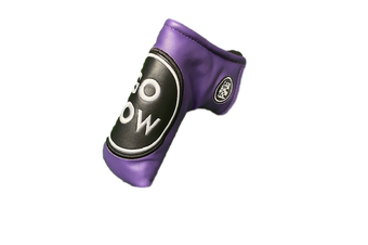 Go Low Blade Putter Cover - Purple