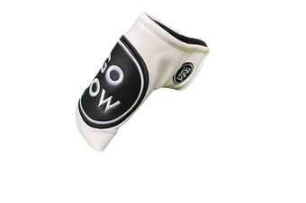 Go Low Blade Putter Cover - White