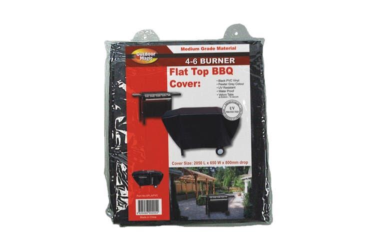 Outdoor Magic - Flat Top BBQ 4 to 6 Burner XL