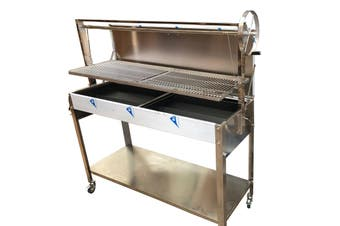 NEW Argentinian BBQ with Height Adjustable Grill