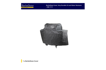 BarbeSkew Cover, Very Durable UV and Water Resistant - CBC-1111