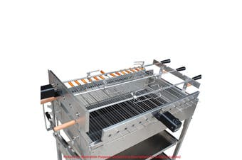 2020 Extra Large Cyprus Grill BBQ Rotisserie with 2 x Electric motors