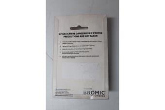 "Gas Adaptor Type G Elbow 90 Degree 1/4"" BSPM x 1/4"" BSPF"