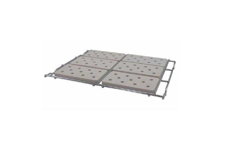 Sunco 320mm 3/6 Burner Ceramic Tiles with Wire Holder