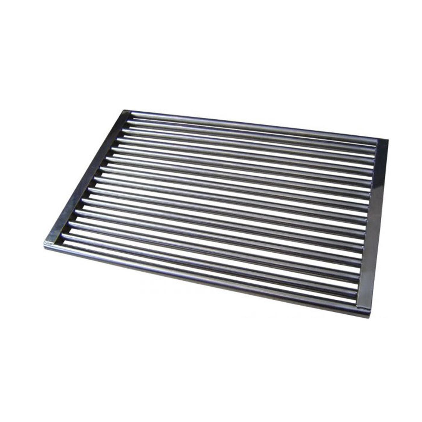 Sunco 320mm x 485mm Stainless Steel Grill 320mm x 485mm Stainless Steel Grill (Electro polished) Standard after market replacement to suit most 3 burner & 6 burner Beefeater or Sunco barbecues