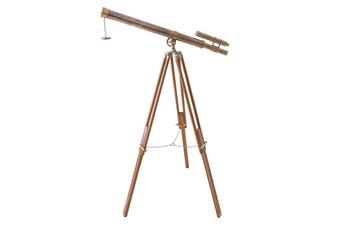Double Barrel One Meter Telescope On Tripod