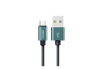 Rock Type C Nylon Braided USB Cable