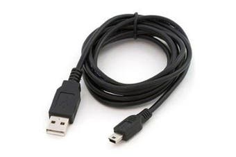 Male Type A USB 2.0 to Male Mini USB Cable
