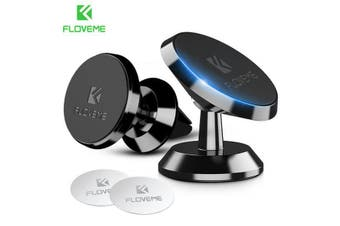 FloveMe Magnetic Car Mount - Silver