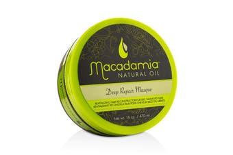 Macadamia Natural Oil Deep Repair Masque (For Dry  Damaged Hair) 470ml/16oz