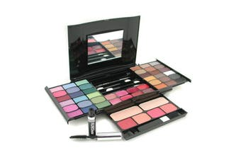 Cameleon MakeUp Kit G2327 (2x Powder  36x Eyeshadows  4x Blusher  1xMascara  1xEye Pencil  8x Lip Gloss  4x Applicators)