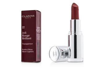 Clarins Joli Rouge Brillant (Perfect Shine Sheer Lipstick) - # 22 Coral Dahlia 3.5g/0.1oz