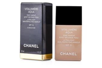 Chanel Vitalumiere Aqua Ultra Light Skin Perfecting Makeup SFP 15 - # 22 Beige Rose 30ml/1oz