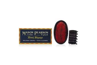 Mason Pearson Boar Bristle - Large Extra Military Pure Bistle Large Size Hair Bush (Dark Ruby) 1pc