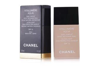 Chanel Vitalumiere Aqua Ultra Light Skin Perfecting M/U SPF15 - # 52 Beige Rose 30ml/1oz