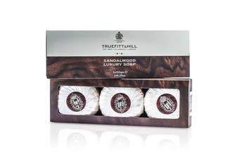 Truefitt & Hill Sandalwood Luxury Soap (Triple) 3x150g/5.25oz
