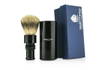 Truefitt & Hill Turnback Traveler Badger Hair Shave Brush - # Ebony 1pc