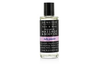 Demeter Baby Powder Massage & Body Oil 60ml/2oz