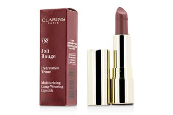 Clarins Joli Rouge (Long Wearing Moisturizing Lipstick) - # 752 Rosewood 3.5g/0.1oz