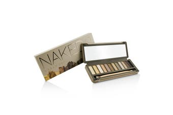 Urban Decay Naked 2 Eyeshadow Palette: 12x Eyeshadow  1x Doubled Ended Shadow/Blending Brush