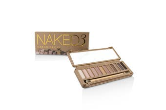 Urban Decay Naked 3 Eyeshadow Palette: 12x Eyeshadow  1x Doubled Ended Shadow/Blending Brush