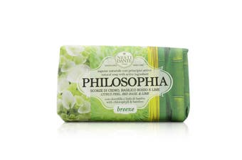 Nesti Dante Philosophia Natural Soap - Breeze - Citrus Peel  Red Basil & Lime With Chlorophyll & Bamboo 250g/8.8oz