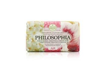 Nesti Dante Philosophia Natural Soap - Lift - Cherry Blossom  Osmanthus & Geranium With Bach Flowers & Vitamin E 250g/8.8oz
