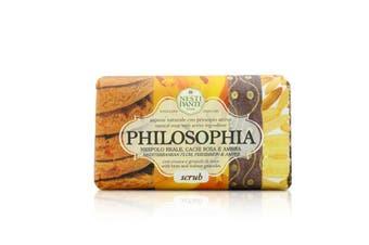 Nesti Dante Philosophia Natural Soap - Scrub - Mediterranean Plum  Persimmon & Amber With Bran & Walnut Granules 250g/8.8oz