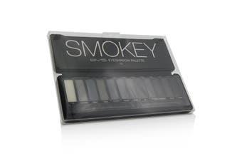 BYS Eyeshadow Palette (12x Eyeshadow  2x Applicator) - Smokey 12g/0.42oz