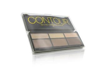 BYS Contour Palette (3x Contouring Powder  3x Highlighting Powder) 20g/0.7oz