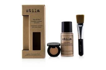Stila Stay All Day Foundation  Concealer & Brush Kit - # 1 Bare 2pcs