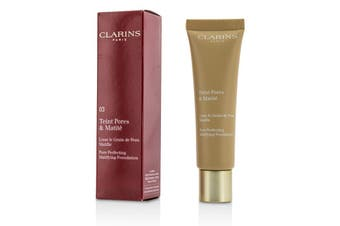 Clarins Pore Perfecting Matifying Foundation - # 03 Nude Honey 30ml/1oz