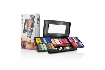 Cameleon MakeUp Kit Deluxe G2215 (24x Eyeshadow  3x Blusher  2x Pressed Powder  5x Lipgloss  2x Applicator)