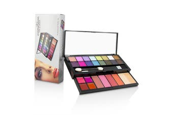 Cameleon MakeUp Kit Deluxe G2219 (16x Eyeshadow  4x Blusher  1x Pressed Powder  4x Lipgloss  2x Applicator)